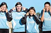 Argentine women's football team: photo OLE