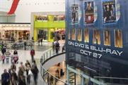 High rise: Limited Space's giant site at the Manchester Arndale shopping centre