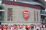 Arsenal FC's Emirates Stadium: ITV has sold off all interests in the club