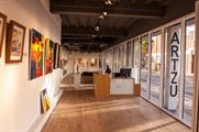 Artzu Gallery is situated within Manchester's Old Granada Studios (artzu.co.uk)