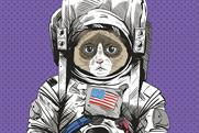 Anomalous cat in space