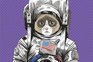 Anomalous cat in space