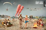 Axe campaign: 'Make love not war' by BBH London