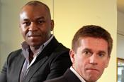 Enyi Nwosu and Tim Allnutt...heading MCHI