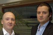Joe Petyan and Tom Vick...new joint MDs at JWT London