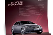 Lexus: persuading customers to upgrade