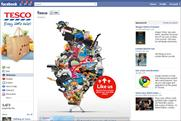 Tesco: revamps Facebook presence