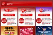 Virgin Games: Virgin to re-enter gaming market