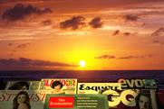 Is it sunrise or sunset for magazines?