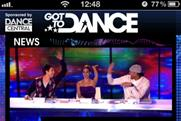 Mobile voting: Sky's Got To Dance app