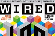 Wired: ad campaign marks magazine's first anniversary