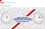 Axa: 'My Budget Day' microsite