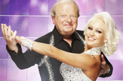 Strictly Come Dancing: Sargeant and dance partner Rihanoff