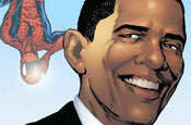 Obama: Spider-Man cover star