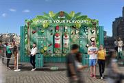 Bacardi: visitors can vote for their favourite serve