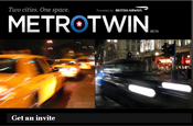 Metrotwin: BA's social media site for New York and London