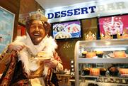 Burger King: prepares to open Dessert Bar in Westfield, London