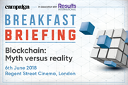 Campaign Breakfast Briefing: Blockchain: Myth versus reality | 6 June 2018