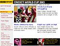 BBC: cricket site push