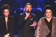 The X Factor: drew an average audience of 15.08 million on ITV1 last night