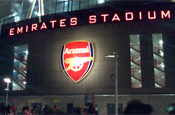 Emirates Stadium: home of Arsenal