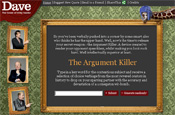 The Argument Killer: juicy quote finder