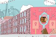 Benefit Cosmetics celebrates female accomplishments with large murals