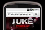 Nissan Juke: creates Flash-enabled phone app