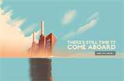 Battersea Power Station developers call on art deco ads