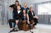 Founder Sharon Richey sits between new recruits, Robert Stimpson and Vanessa Green