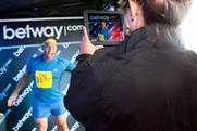 One runner's race face captured at new Betway stand