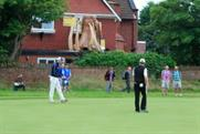 The octopus can be seen from the fourth green