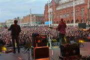 Blackpool's 2014 festival featured three days of entertainment