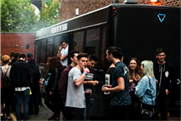 Blu's bus was in Liverpool last weekend
