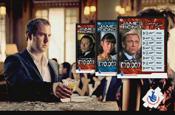 James Bond scratch card