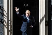 Johnson: staying in number 10 after Tory landslide at polls
