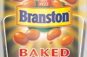 Branston: label created by Saffron