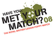 The Royal British Legion: to stage UK's largest football match