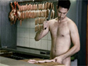 Brylcreem: naked butcher ad
