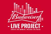 Budweiser has teamed up with Spotify to help deliver its live music project