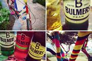 Bulmers: injects some colour into winter with 'yarn-bombing' campaign