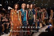 #Tweetcam: Burberry once again earns its digital content stripes