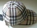 Burberry: check cap consigned to history