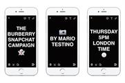 Burberry: distributing content about its advertising