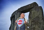 Buzz Aldrin at Stonehenge. Photo: James. O Davies / English Heritage