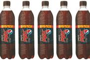 Pepsi: introduces 600ml bottles