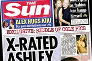 The Sun: circulation rose 5% to pass the three million-copy mark
