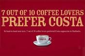 Costa: ad under investigation