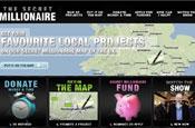 Secret Millionaire website: launched by Collective