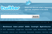 Twitter: launched new homepage